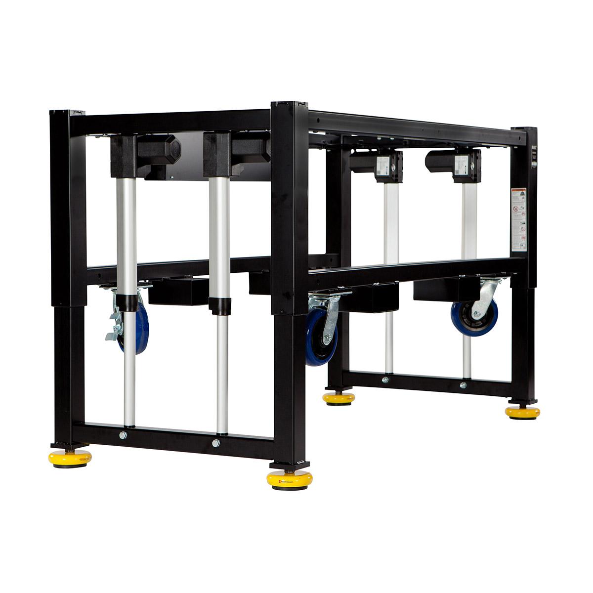Machine base built durable and ergonomic