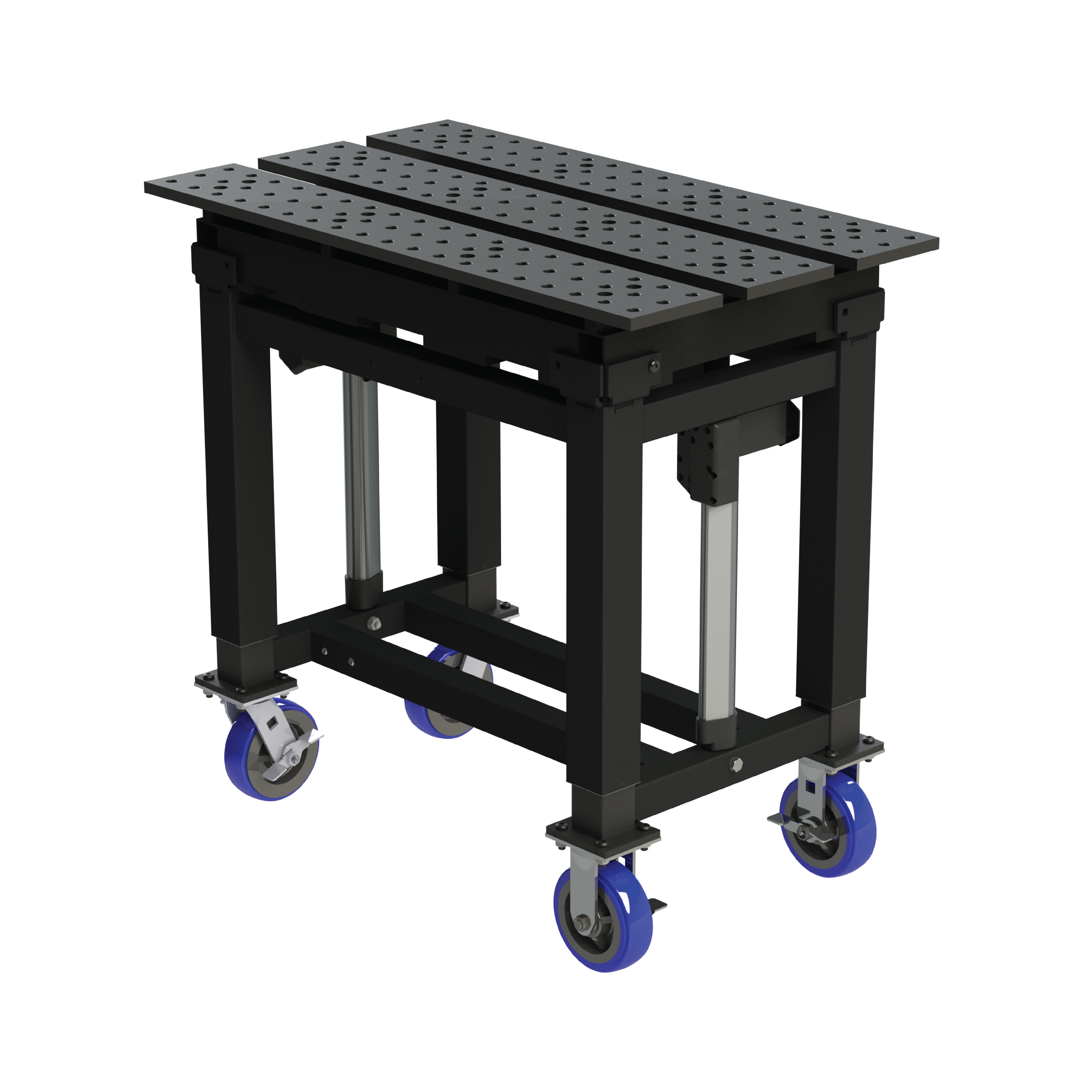 Height Adjustable Welding Table