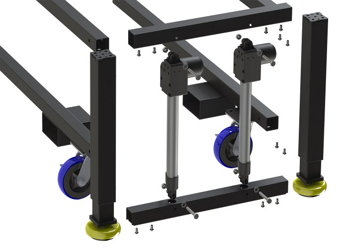 Ergonomic and Durable manufacturing equipment for the lean manufacturing facility.