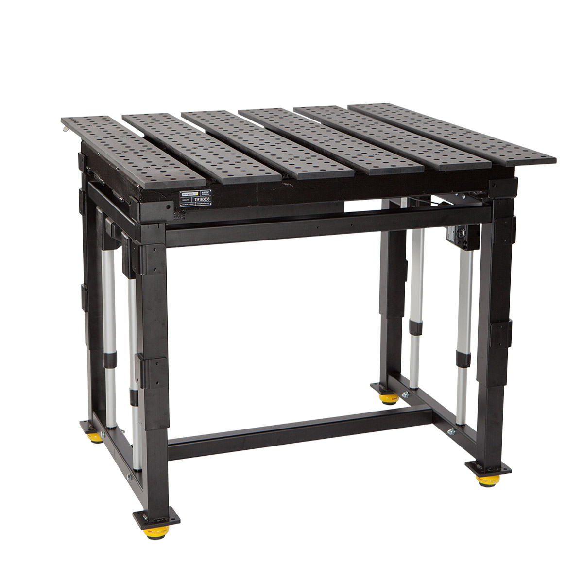 Weld table built ergonomic and durable