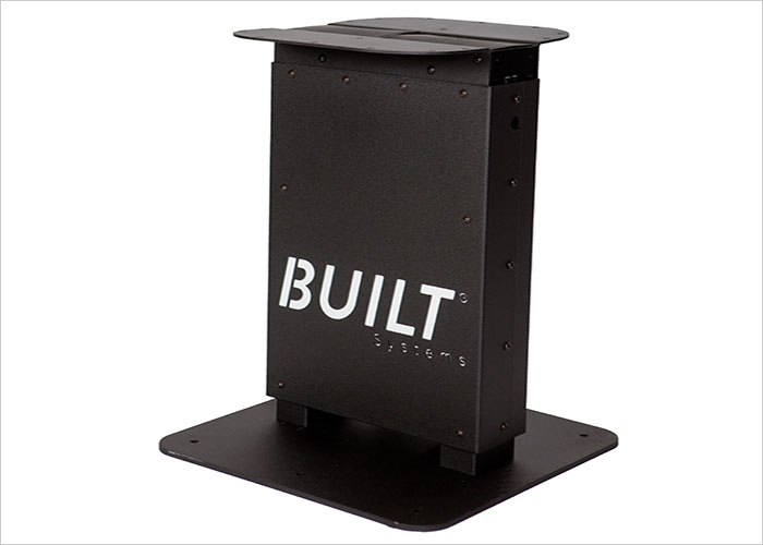 Pedestal base, Built systems