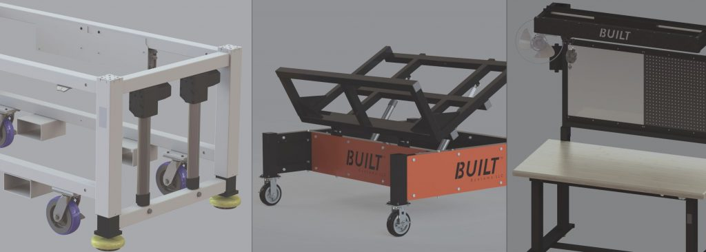 Customization in manufacturing equipment.