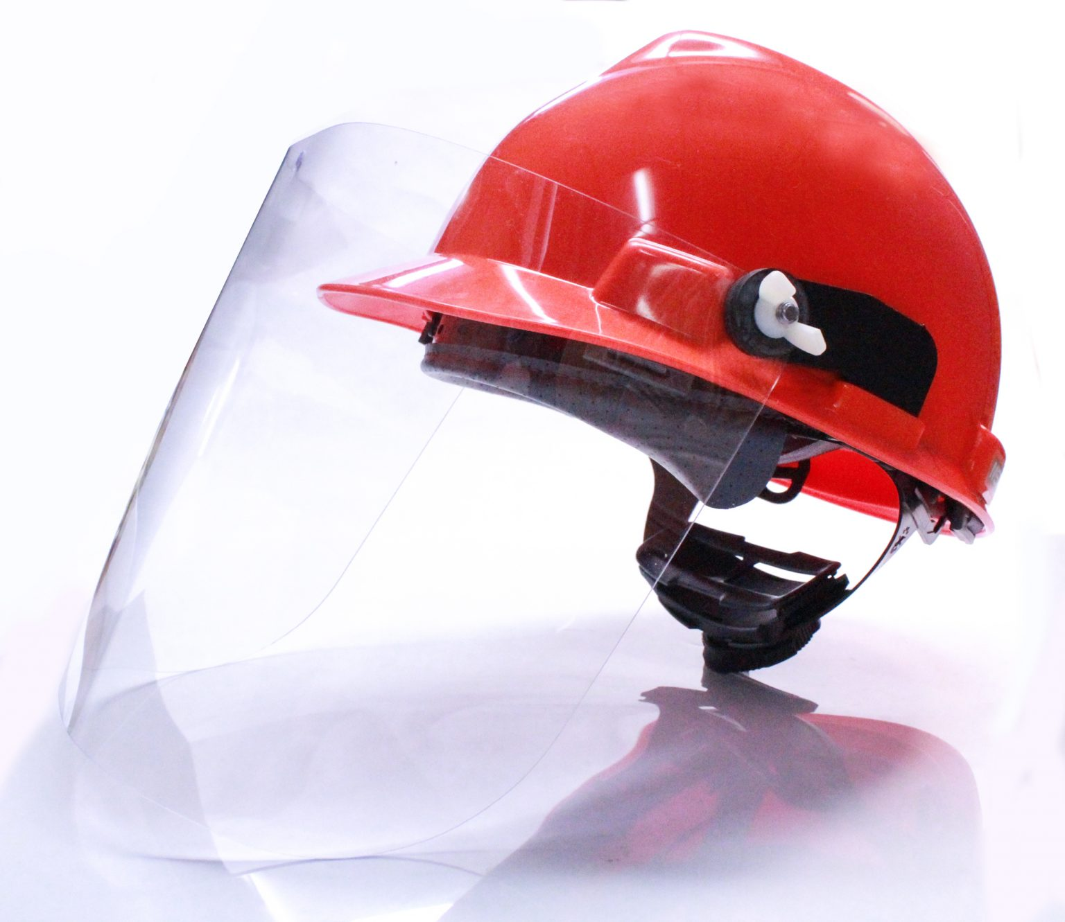 Hard Hat Face Shield - BUILT Systems